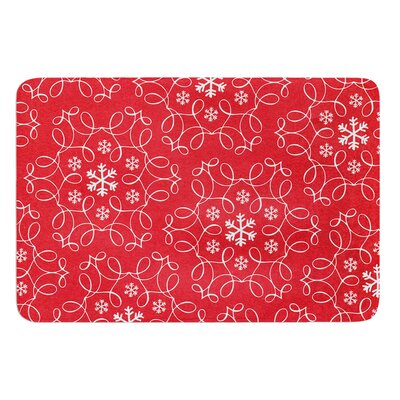 Christmas Spirit by Heidi Jennings Bath Mat Size: 24 W x 36 L