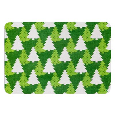 Pine Forest by Heidi Jennings Bath Mat Size: 24 W x 36 L