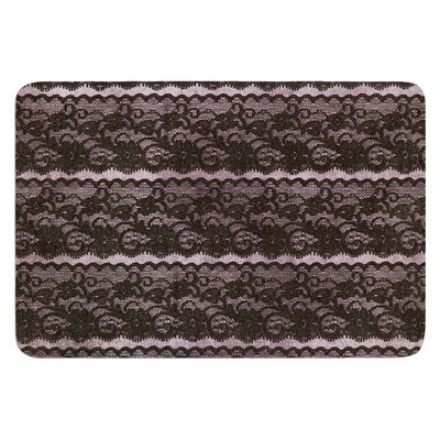 Lace by Heidi Jennings Bath Mat Size: 24 W x 36 L