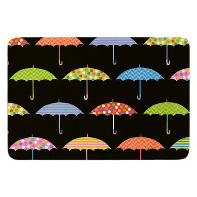 Umbrella by Heidi Jennings Bath Mat Size: 17W x 24L