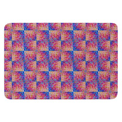Splash Revisited by Ebi Emporium Bath Mat Size: 24 W x 36 L