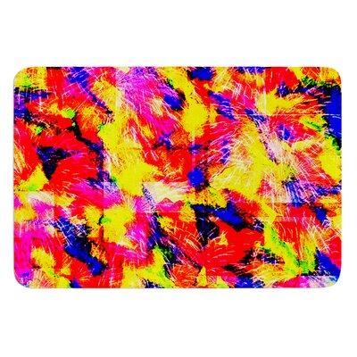 The Flock by Ebi Emporium Bath Mat Size: 24 W x 36 L
