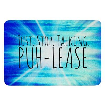 Puh-lease by Ebi Emporium Bath Mat Size: 17 W x 24 L