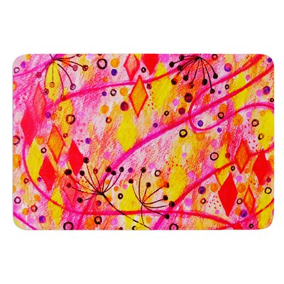Into the Fall by Ebi Emporium Bath Mat Size: 17 W x 24 L