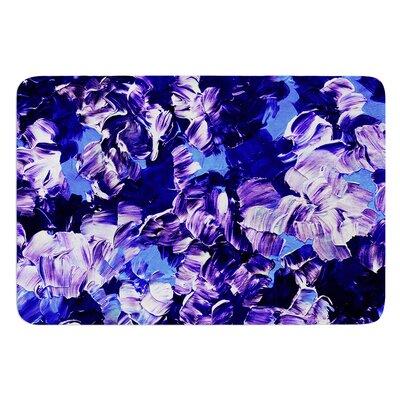 Floral Fantasy by Ebi Emporium Bath Mat Size: 17 W x 24 L
