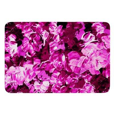 Floral Fantasy III by Ebi Emporium Bath Mat Size: 17 W x 24 L