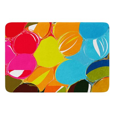 Bubbles by Matthias Hennig Bath Mat