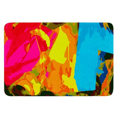 Colored Plastic by Matthias Hennig Bath Mat