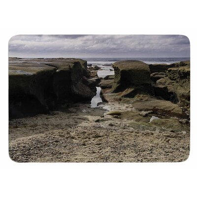 Stones Leading To Ocean by Nick Nareshni Bath Mat