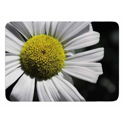 Open Daisy by Nick Nareshni Bath Mat