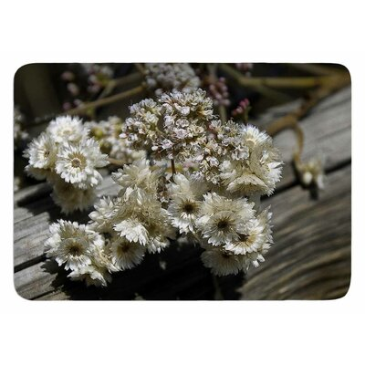 Rustic Flowers by Nick Nareshni Bath Mat