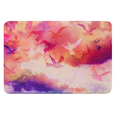 Souffle Sky by Nikki Strange Bath Mat