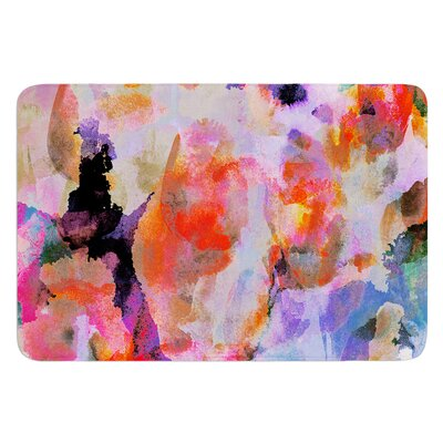 Painterly Blush by Nikki Strange Bath Mat