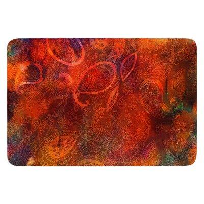 Tie Dye Paisley by Nikki Strange Bath Mat