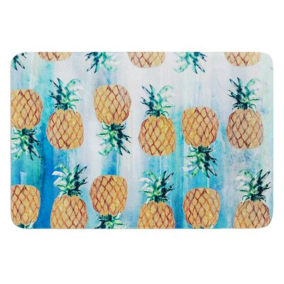 Pineapple Beach by Nikki Strange Bath Mat