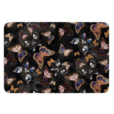 Galactic Butterfly by Nikki Strange Bath Mat