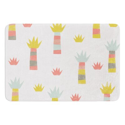 Tropical by Alik Arzoumanian Bath Mat Size: 17W x 24L