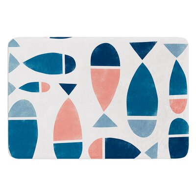 Fish by Alik Arzoumanian Bath Mat Size: 17W x 24L