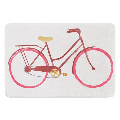 Bike by Alik Arzoumanian Bath Mat Size: 17W x 24L