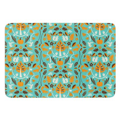 Autumn Harvest by Allison Beilke Bath Mat Size: 17W x 24L