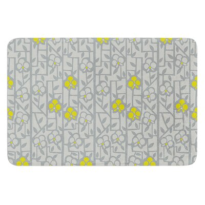 Deco Orchids by Allison Beilke Bath Mat Size: 24 W x 36 L