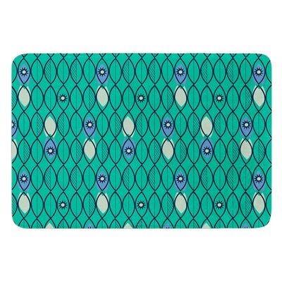 Suncoast Emerald by Allison Beilke Bath Mat Size: 24 W x 36 L