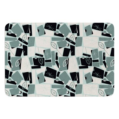 Vacation Days Chess by Allison Beilke Bath Mat Size: 17W x 24L