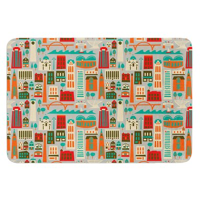 My Fair Milwaukee by Allison Beilke Bath Mat Size: 17W x 24L