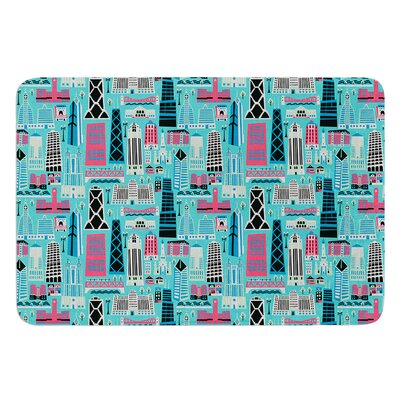 My Kind of Chicago by Allison Beilke Bath Mat Size: 17W x 24L
