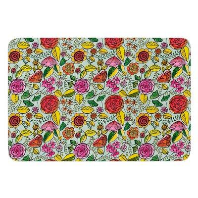 Garden Variety by Allison Beilke Bath Mat Size: 24 W x 36 L