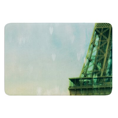 Paris Dreams by Ann Barnes Bath Mat Size: 17W x 24L