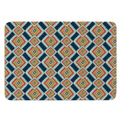 Rainbow Ikat by Amy Reber Bath Mat