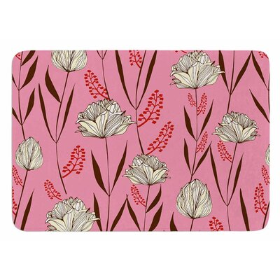 Floral by Amy Reber Bath Mat