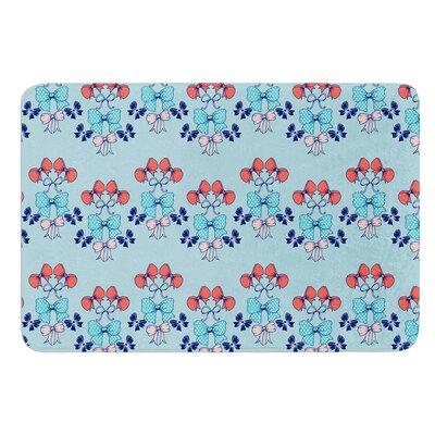 Bows by Anneline Sophia Bath Mat Size: 24 W x 36 L