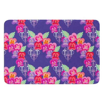 Beautifully Boho by Anneline Sophia Bath Mat Size: 17W x 24L