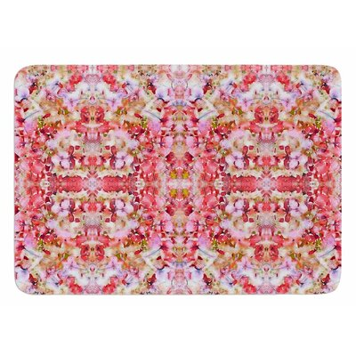 Floral Reflections by Carolyn Greifeld Bath Mat