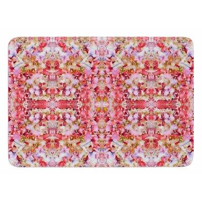 Floral Reflections by Carolyn Greifeld Bath Mat
