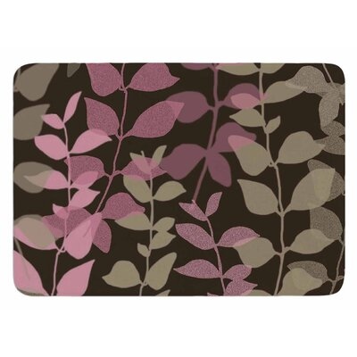 Leaves of Fantasy 2 by Carolyn Greifeld Bath Mat