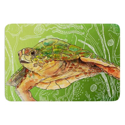 Shelley Sea by Catherine Holcombe Bath Mat Size: 17W x 24 L