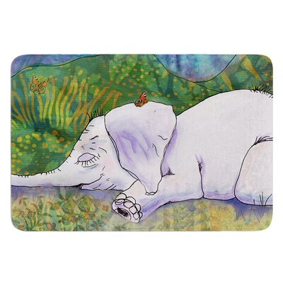 Ernies Dream by Catherine Holcombe Bath Mat Size: 24 W x 36 L
