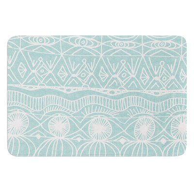 Beach Blanket Bingo by Catherine Holcombe Bath Mat Size: 17W x 24 L
