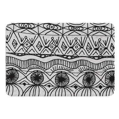 Blanket of Confusion by Catherine Holcombe Bath Mat Size: 24 W x 36 L