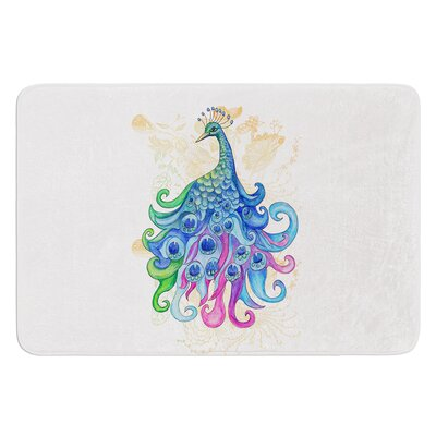 Peace by Catherine Holcombe Bath Mat Size: 24 W x 36 L