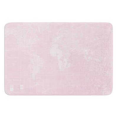 Her World by Catherine Holcombe Bath Mat Size: 24 W x 36 L