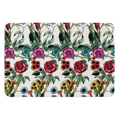 Margaret by DLKG Design Bath Mat Size: 17W x 24L