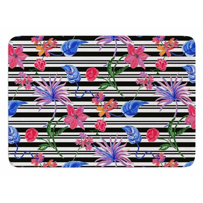Flower Party by DLKG Design Bath Mat