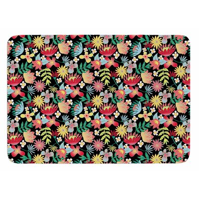 Flower Power by DLKG Design Bath Mat