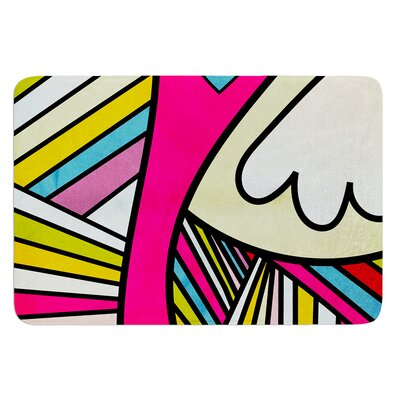 Fake Colors by Danny Ivan Bath Mat Size: 24 W x 36 L