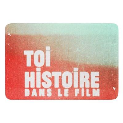 Toi Histoire by Danny Ivan Bath Mat Size: 24 W x 36 L