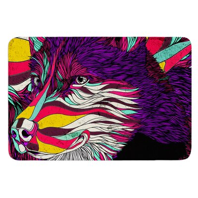 Color Husky by Danny Ivan Bath Mat Size: 17W x 24L